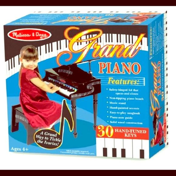 Melissa Doug Learn To Play Classic Grand Piano